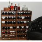 Der Wein kommt ins Regal; Cognac oder Whisky oben aufs Regal, so benutzen Sie das Weinregal optimal