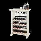 Weinregal Pinot ist ein Schmuckstück für das Wohnzimmer, oder die Küche.