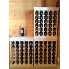 Mit Weinregale Muscat können Sie ihr Weinlager immer weiter ausbauen. Weil die eignen sich hervorragend zum Aufstapeln.