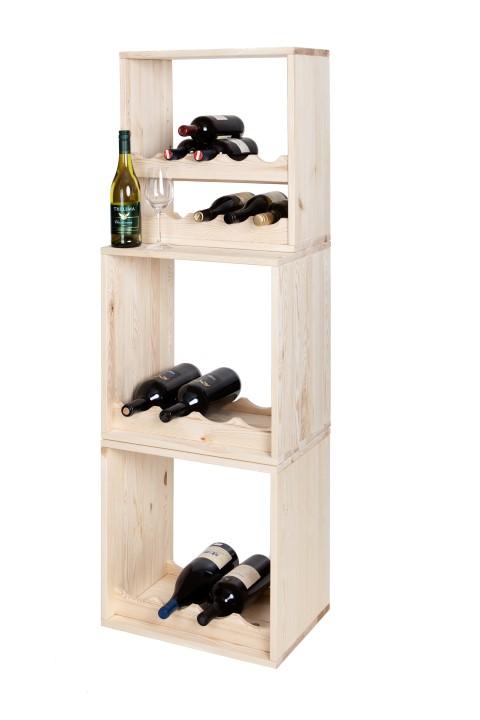 Weinwand Kabinett: Weinregale für Magnum-Flaschen