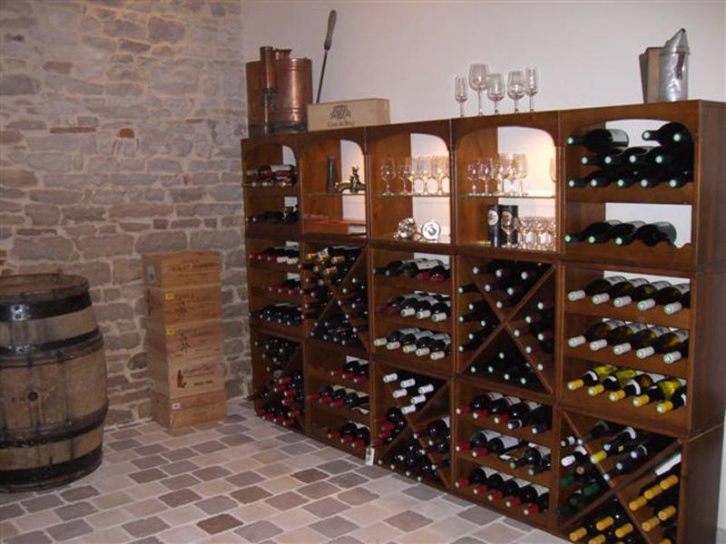 Weinregale für Ihre Wohnung.
