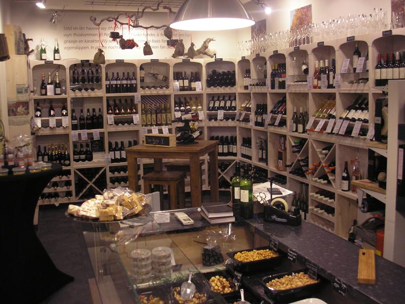Weinregale für Ihr Restaurant und Ihren Laden.